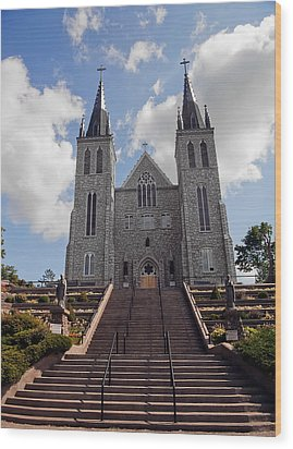 Wood Print featuring the photograph Cathedral In Midland Ontario by Marek Poplawski