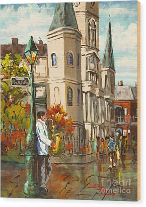 Cathedral Jazz Wood Print by Dianne Parks