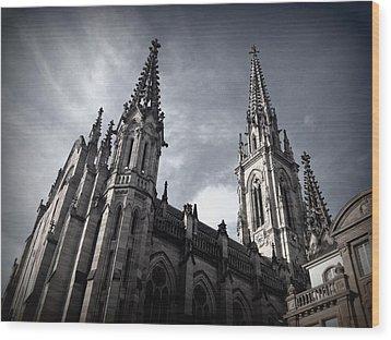 Cathedral Wood Print by Kari Espeland