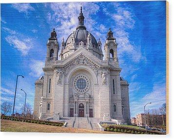 Cathedral Of Saint Paul Wood Print