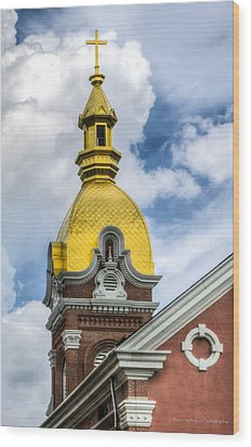 Cathedral Of The Immaculate Conception Wood Print
