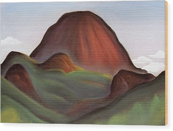 Cathedral Rock Warrumbungle National Park Nsw Wood Print