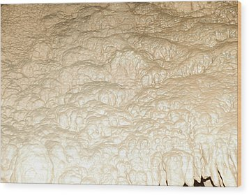 Cave Formation 4 Wood Print by T C Brown