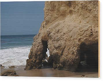 Wood Print featuring the photograph Caves Of El Matador by Robert  Moss