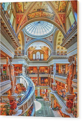 Ceasar's New Palace Wood Print by Paul Mashburn