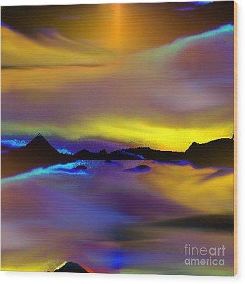 Cebu Sunset Wood Print by Yul Olaivar