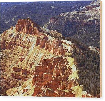 Cedar Breaks Utah Wood Print by Rich Franco