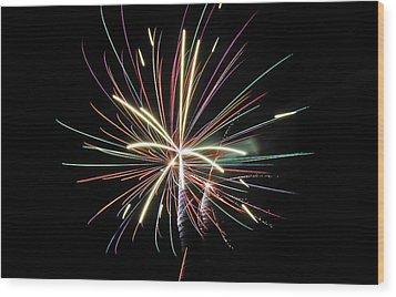 Celebration Wood Print by Gene McKinley