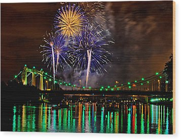 Wood Print featuring the photograph Celebration Time by RC Pics