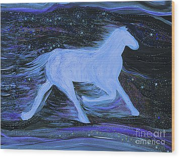 Celestial By Jrr Wood Print by First Star Art