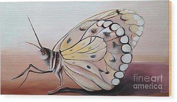 Celine's Butterfly Wood Print