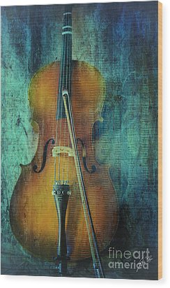 Cello  Wood Print