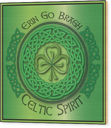 Celtic Spirit Wood Print