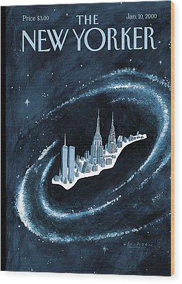 Center Of The Universe Wood Print