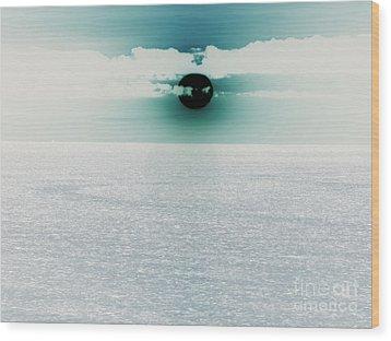 Wood Print featuring the photograph Center Sun by Joy Angeloff