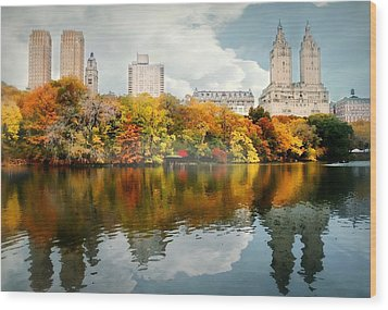 Central Park #1 Wood Print by Diana Angstadt