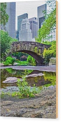Central Park Nature Oasis Wood Print