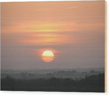 Wood Print featuring the photograph Central Texas Sunrise by John Glass