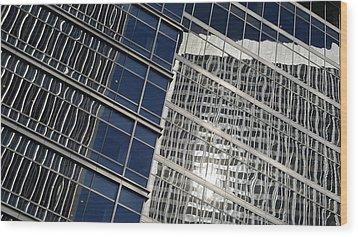Century City Wood Print