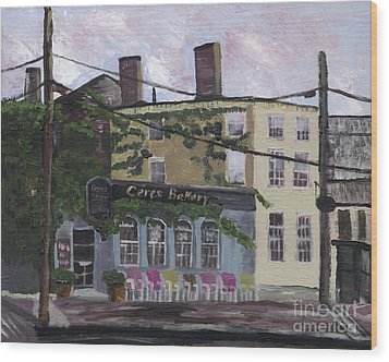 Ceres Bakery Wood Print