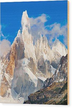 Cerro Torre Wood Print
