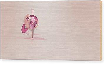 Chameleon Image004 Wood Print by Thomas Lovgren