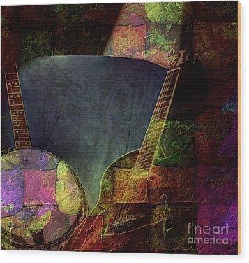 Changing Tune By Steven Langston Wood Print by Steven Lebron Langston