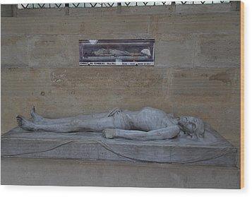 Chapel At Les Invalides - Paris France - 01132 Wood Print by DC Photographer