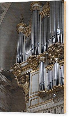 Chapel At Les Invalides - Paris France - 01135 Wood Print by DC Photographer