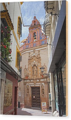 Chapel Of St. Joseph Of Seville Wood Print by Artur Bogacki