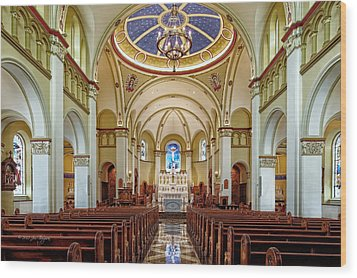 Wood Print featuring the photograph Chapel Of The Immaculate Conception by Jim Thompson