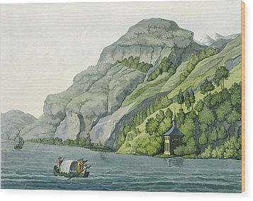 Chapel Of William Tell, From Customs Wood Print by Vittorio Raineri