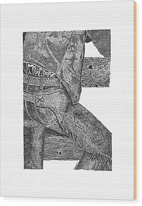 Chaps 1 Wood Print