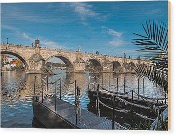 Charles Bridge Wood Print