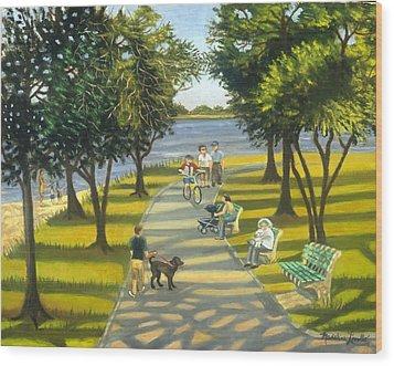 Charles Park Wood Print
