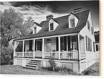 Charles Pickney House Wood Print by John Rizzuto