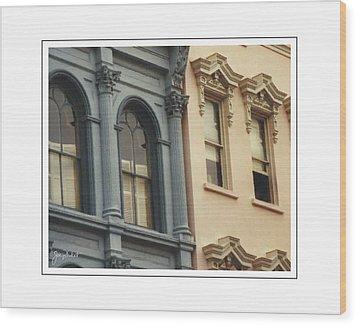 Charleston Architecture 1 Wood Print