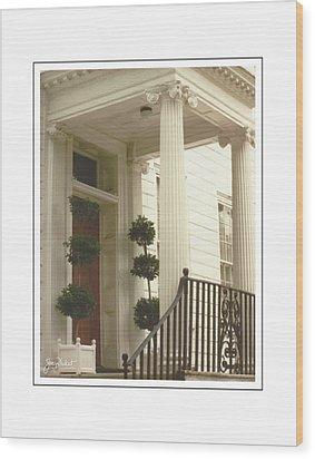Charleston Architecture 2 Wood Print
