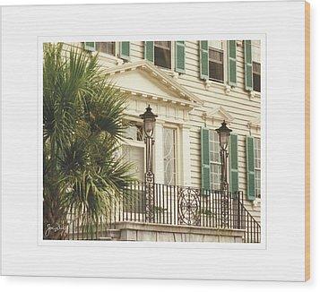 Charleston Architecture 3 Wood Print