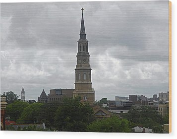 Charleston Church Wood Print by Will Burlingham