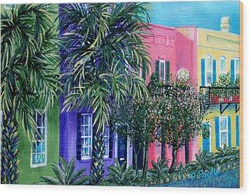 Charleston's Own Rainbow Wood Print