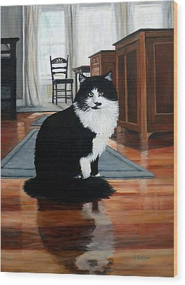 Charlie Wood Print by Eileen Patten Oliver