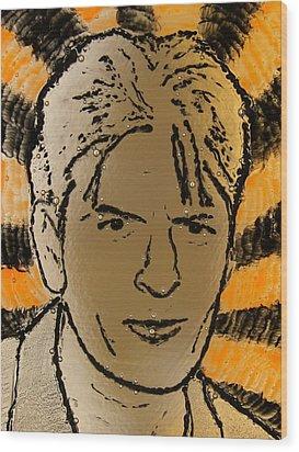 Charlie Sheen Wood Print