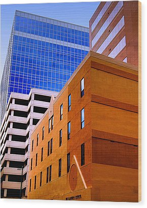 Charlotte Abstract Wood Print