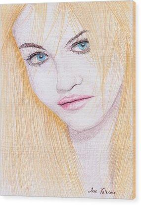Charlotte Free Wood Print