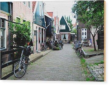 Wood Print featuring the photograph Charming Dutch Village by Joe  Ng