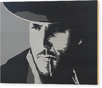 Wood Print featuring the photograph Charro by Natalie Ortiz