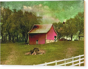 Wood Print featuring the photograph Chartreuse Of Legend by Liane Wright