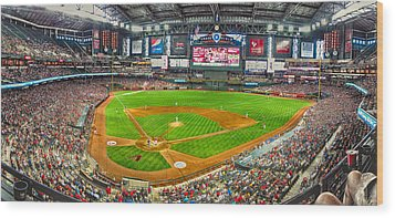Chase Field 2013 Wood Print