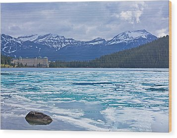 Chateau Lake Louise #2 Wood Print